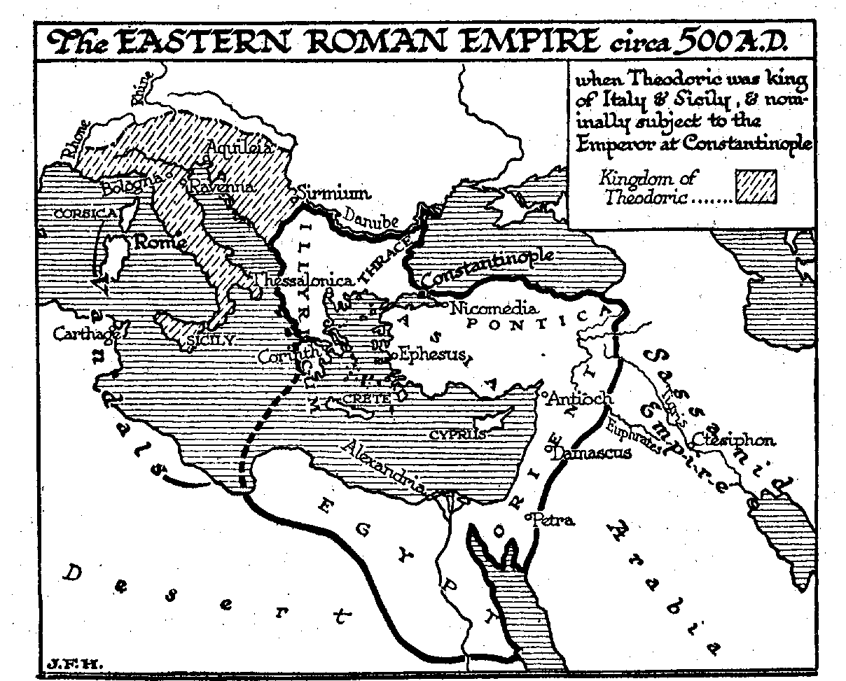 Revived Roman Empire Map.28 6 The Eastern Revived Hellenic Empire The Outline Of History