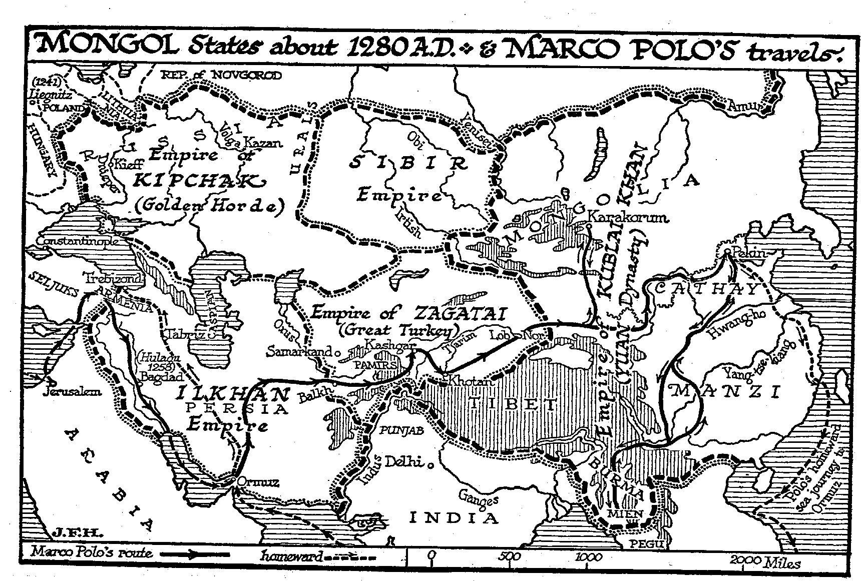 best online official site classic fit 33.3 The Travels of Marco Polo — The Outline of History by ...